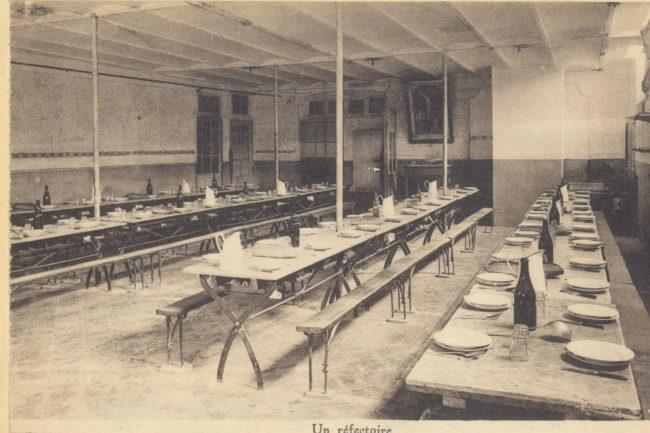 Réfectoire en 1940