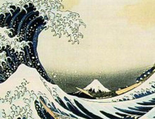 Variations autour de la Grande Vague d'Hokusai (1831)