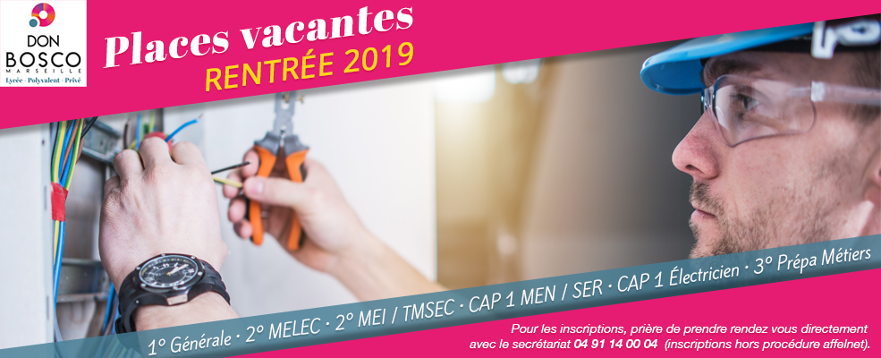 Places Vacantes 2019