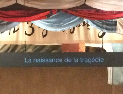 Les T.AMA assistent à « La naissance de la tragédie »