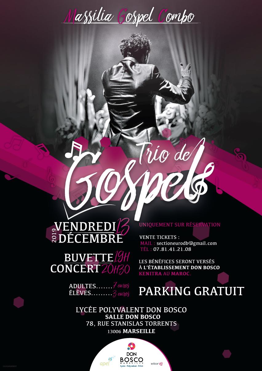 Concert de Gospel au lycée Don Bosco Marseille