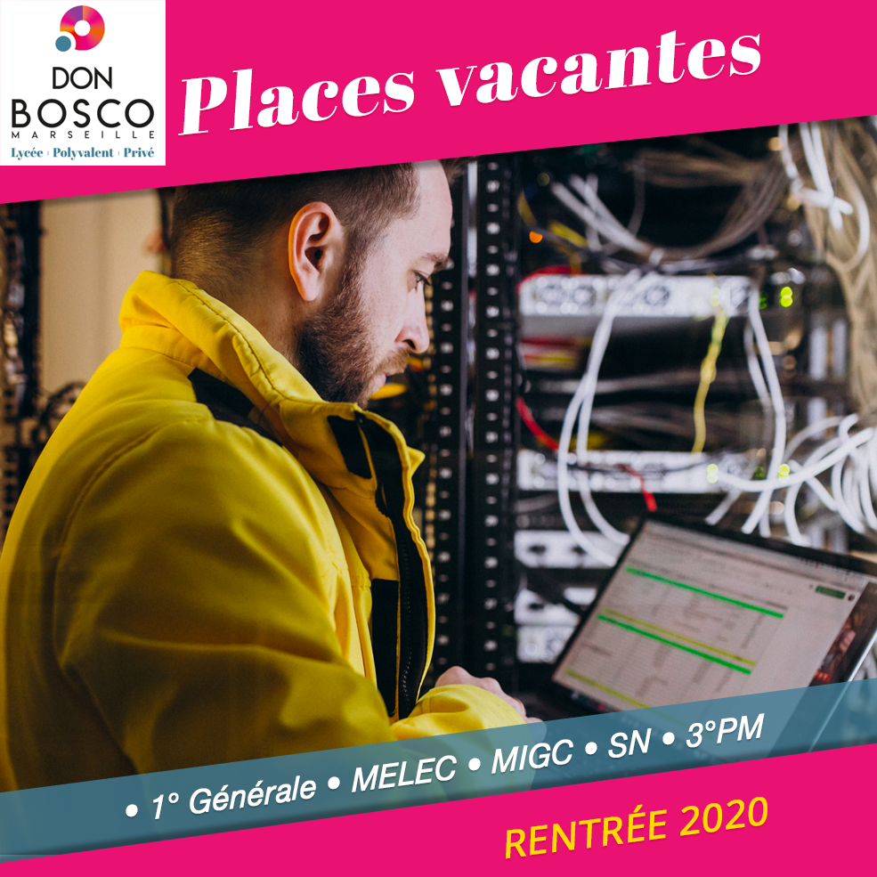 Places vacantes 2020-2021