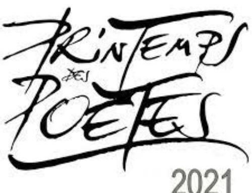 Printemps des poètes 2021